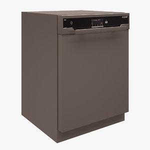 3d arcelik dishwasher