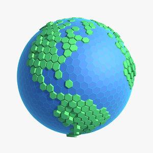 3d cellular planet