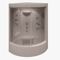 3d teuco shower model