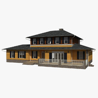 3ds single family house materials