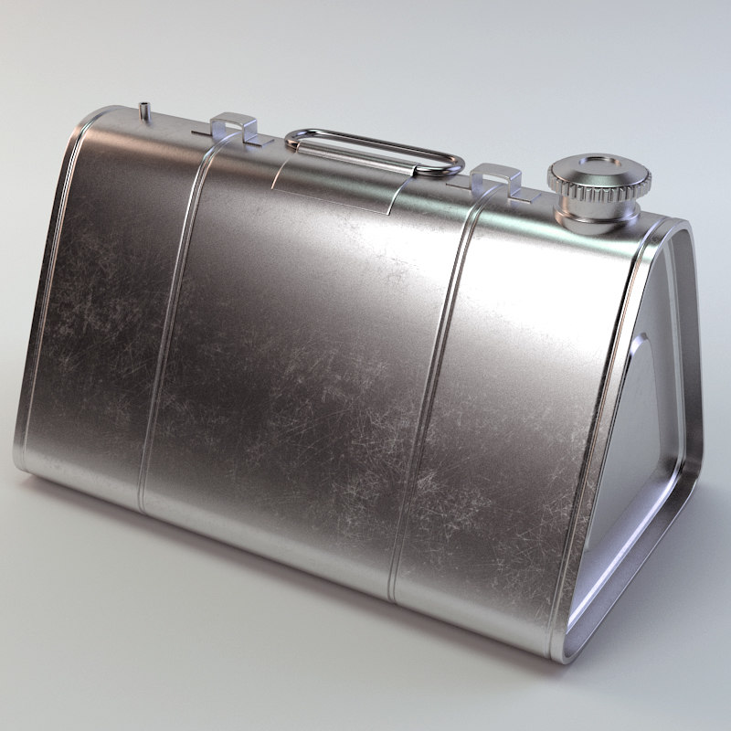 3d canister model