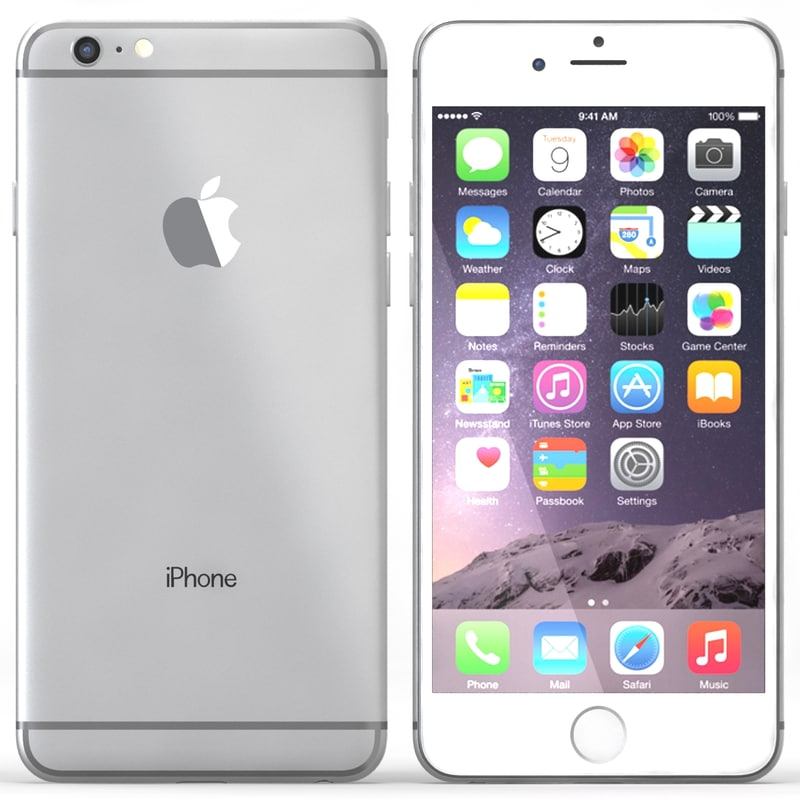 iphone 6 silver max