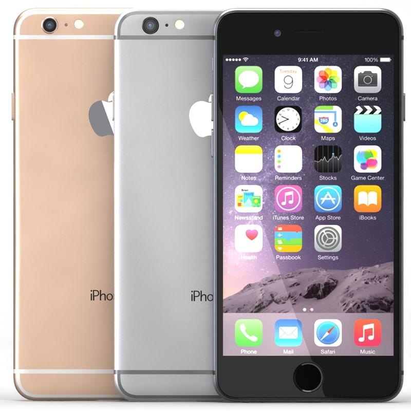 3d max iphone 6