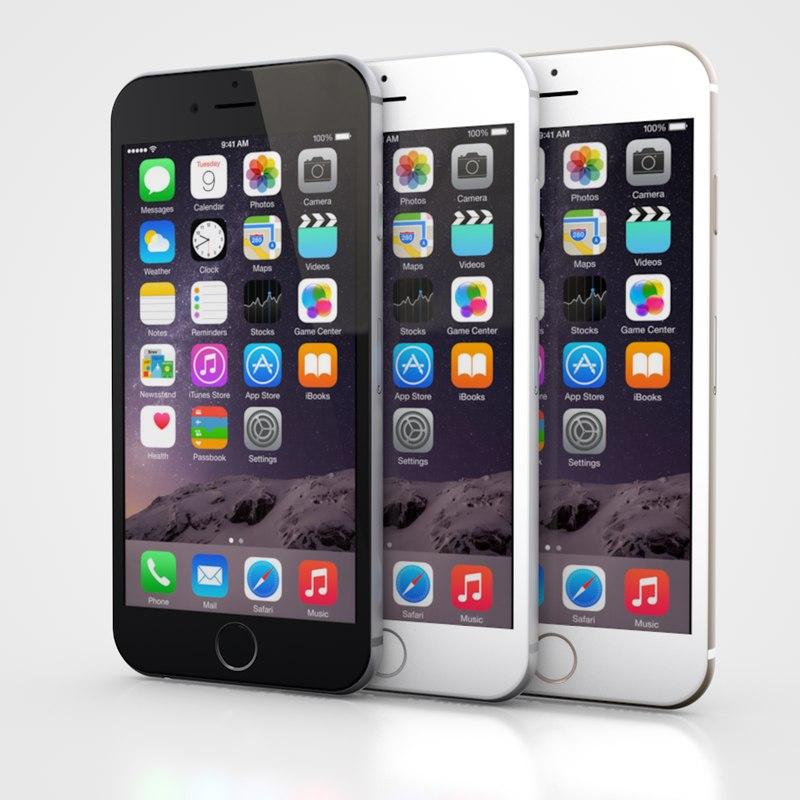 3ds iphone 6 6s black