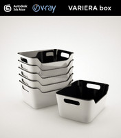 3d model variera box