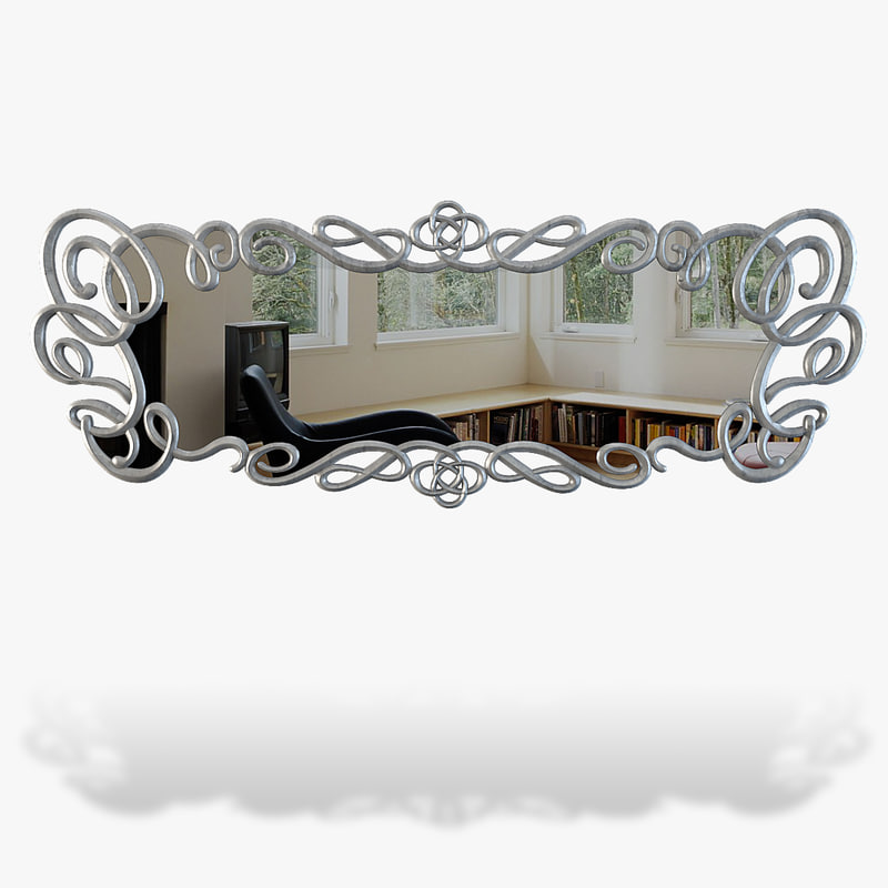 mirror modelled 3d ma