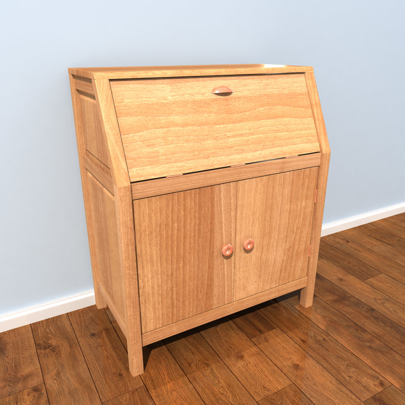 3d model of wood
