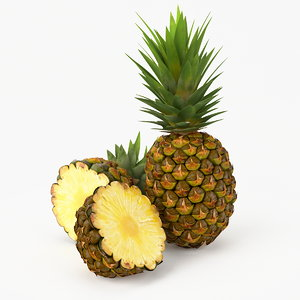 realistic pineapple real fruit max