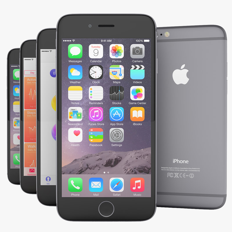 3d apple flagship iphone 6