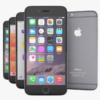 3d apple flagship iphone 6