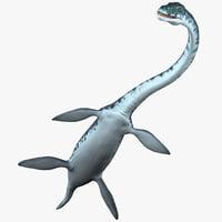 Plesiosaur Rigged