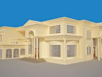 3d amazing villa