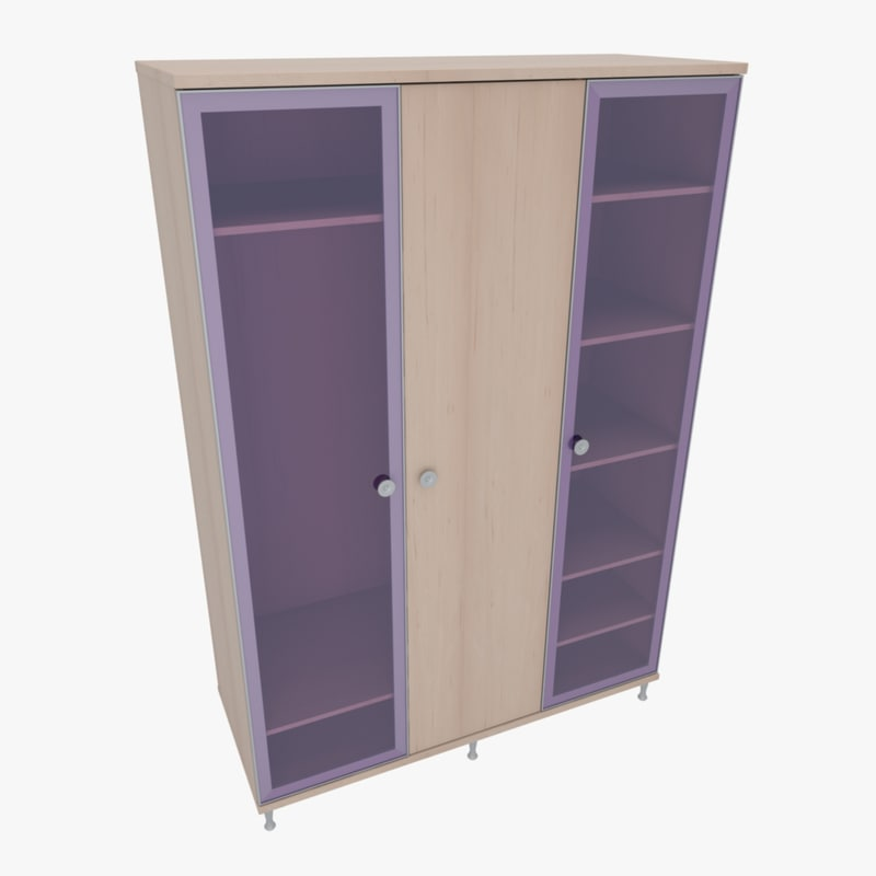 3d furniture office home cabinet