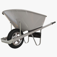 v-ray wheelbarrow 3d max