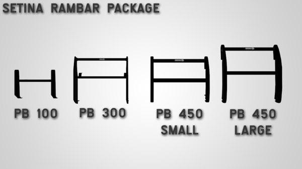 max setina rambar package