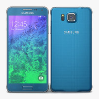 3d samsung galaxy alpha scuba model