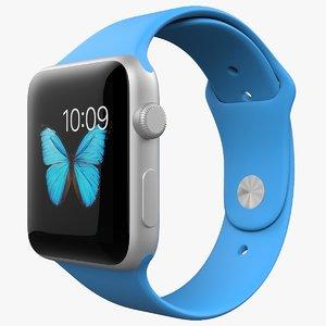 3d apple watch sport