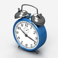 3ds max classic alarm clock