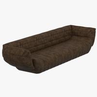 baxter tactile sofa 3d model