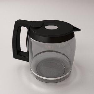 maya coffee maker carafe