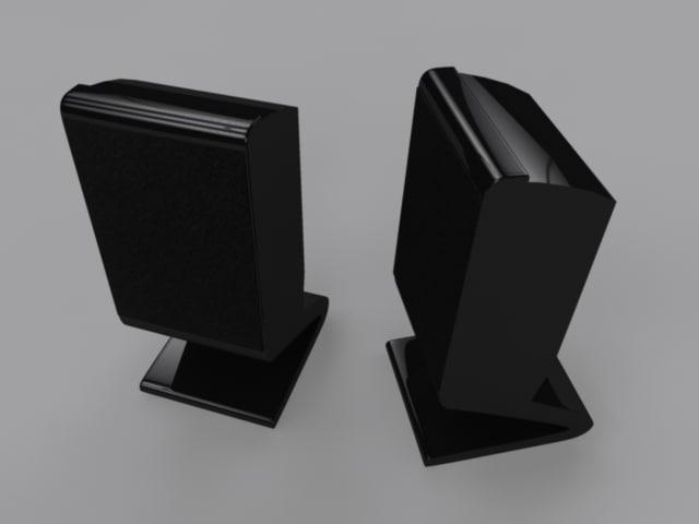 pc speakers obj