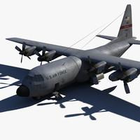 c-130 drop 3d x