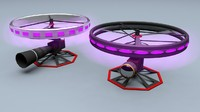 high-end camera drone - c4d