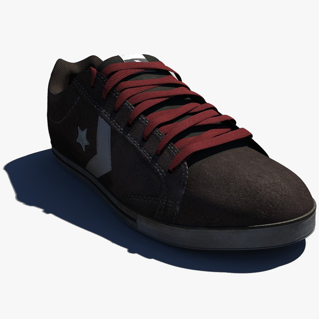 3d model shoes sneakers