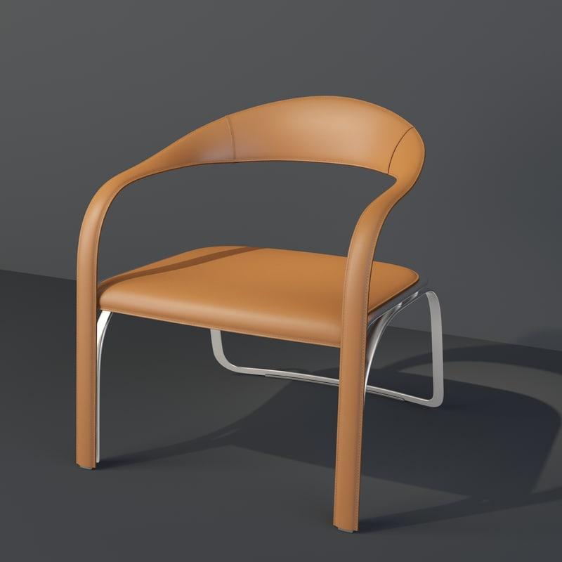 max vladimir kagan fettuccini seat chair
