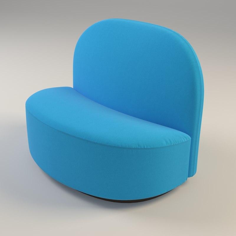 3d elysee chair