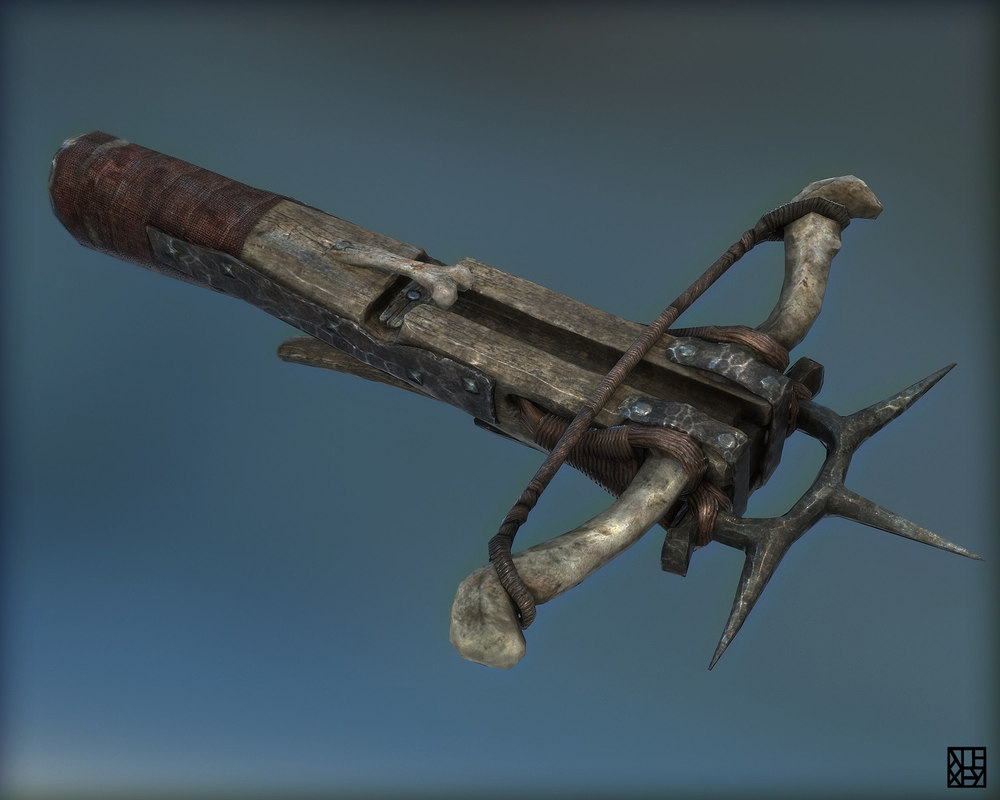 max goblin crossbow fantasy weapon