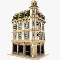 Cartoon Corner Building 2