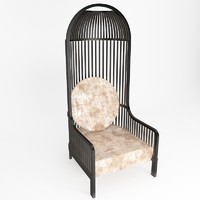 3d model chair figure