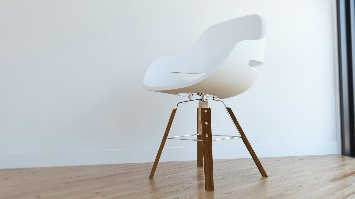 eva chair 3d max