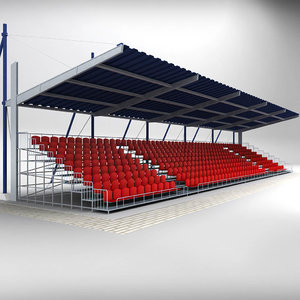 max stadium seating tribune canopy