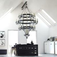 taurus tier chandelier max