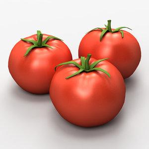 3d tomato model