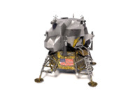 3dsmax apollo landing module