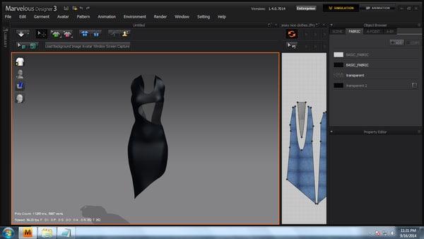 free poser clothes 3d model