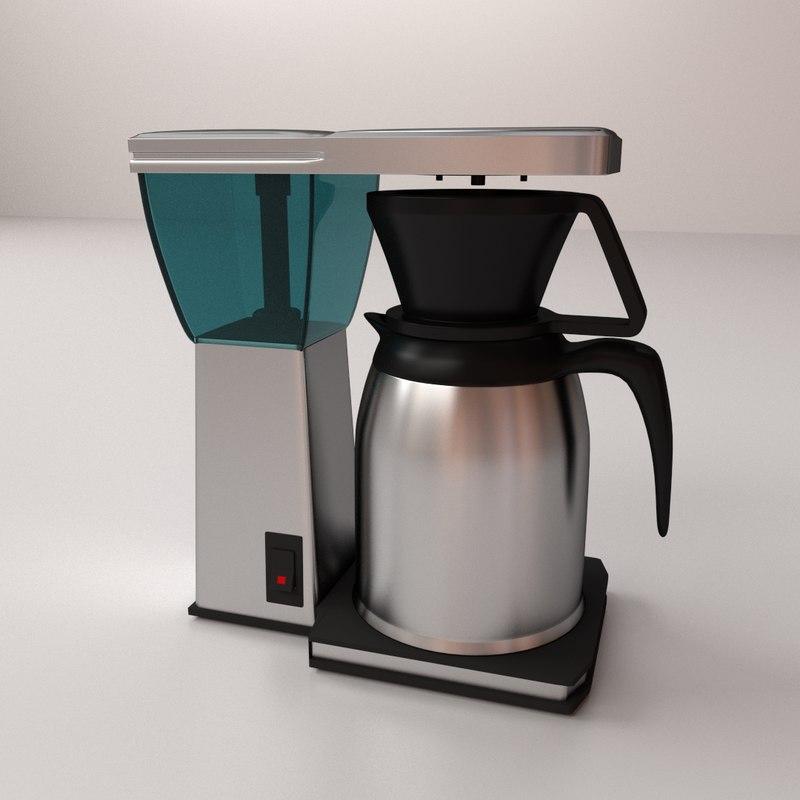 3d coffee maker coffeemaker