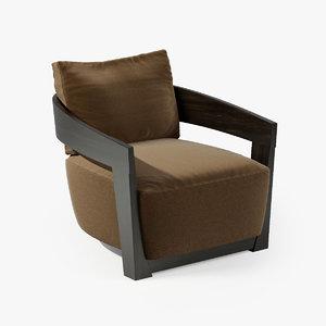 3d model jesse cindy armchair