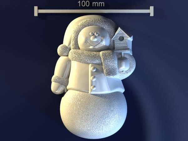 christmas mould hand max