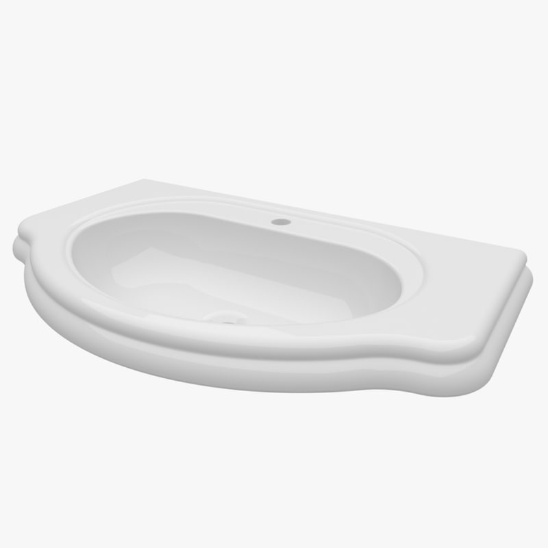 3d model washbasin 850