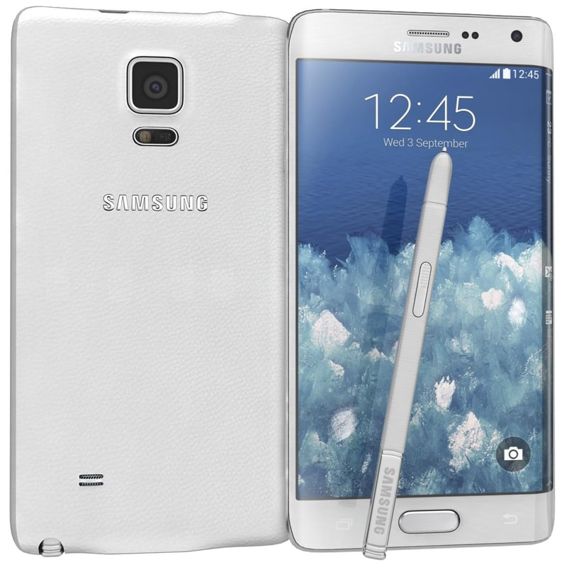 3d model samsung galaxy note edge