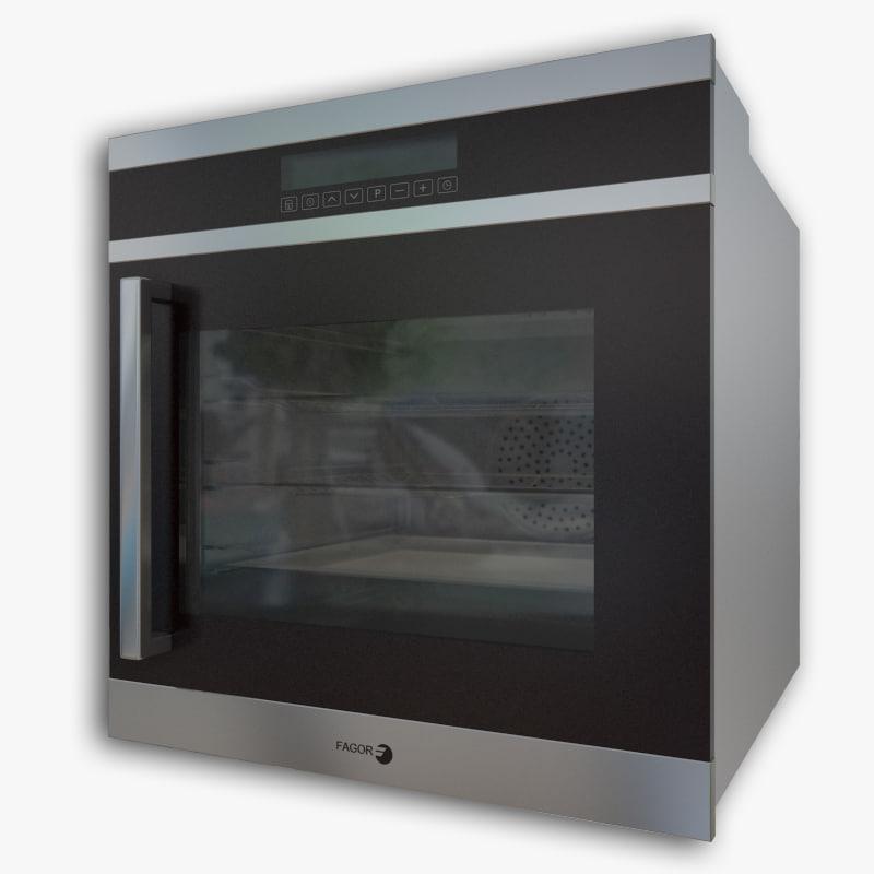 6ha200trx fagor 3d model