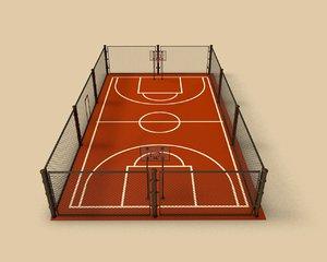 basketball platform project obj