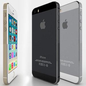 apple phone iphone 3d model