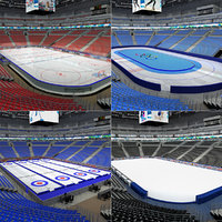 Winter Sport Arenas Interiror Collection
