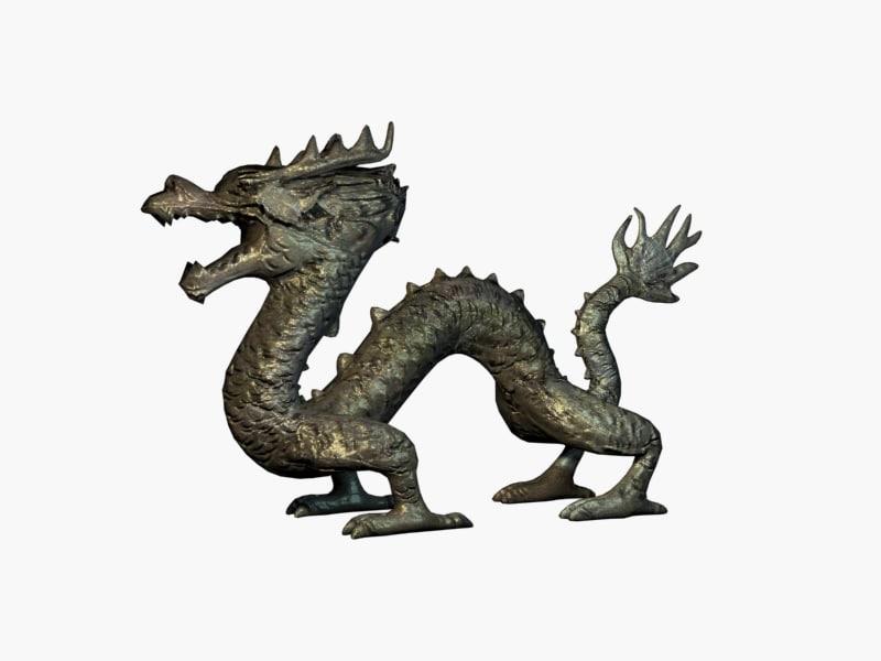 3ds max ancient dragon