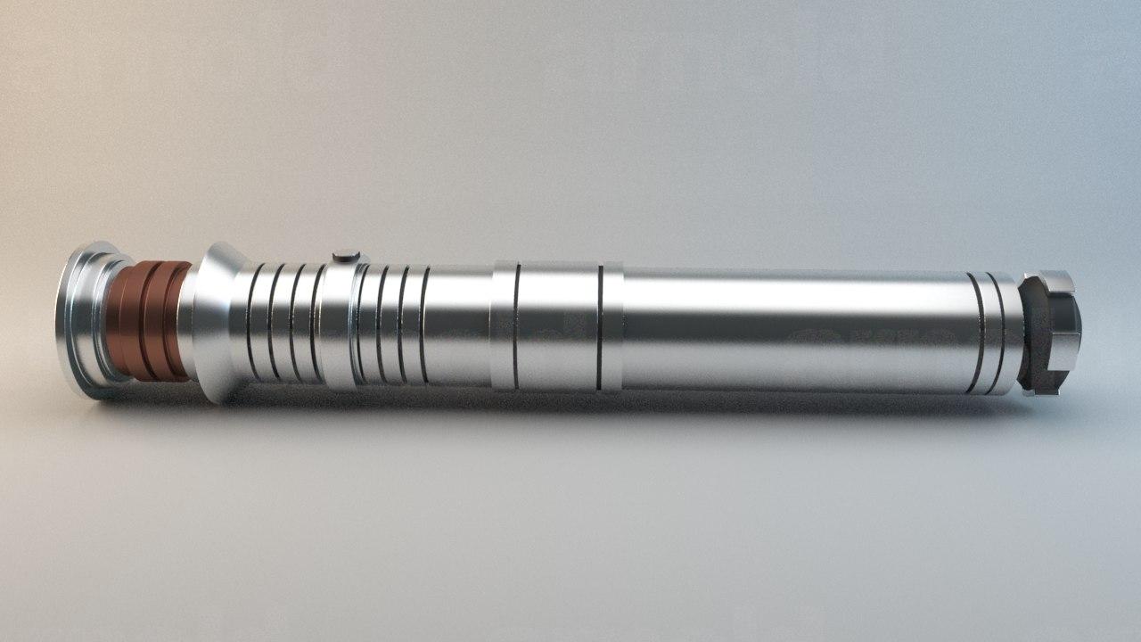 3d x darth revan lightsaber